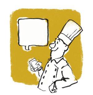 kok sms catering tegning tegner