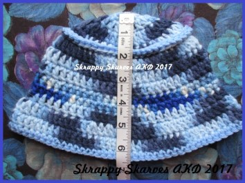 45b Child's Multi Blue Bucket Hat