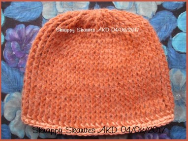 7b Brushed Rust Set Beanie