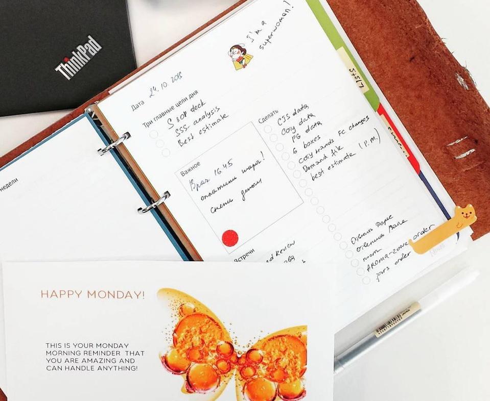 Планирование на бумаге или в электронном виде?| Домашнее издательство Skrebeyko