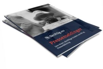 Pressemeldinger –Den Store, Skriftlige Guiden om PR og Pressedekning