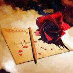 Gestalta kärlek med högst tre ord – skrivövning