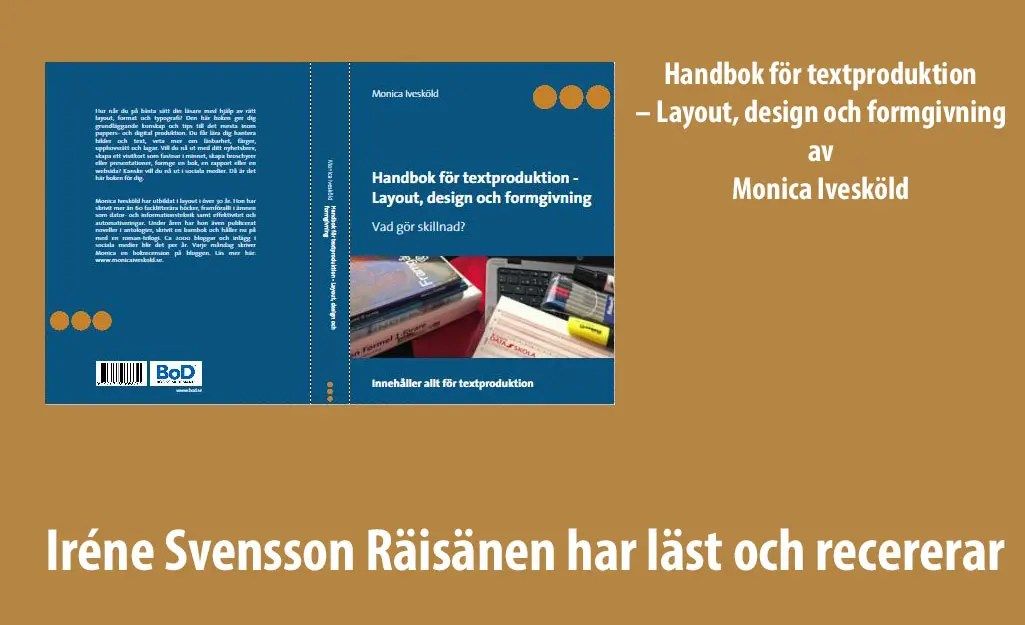 Handbok för textproduktion – Layout, design och formgivning