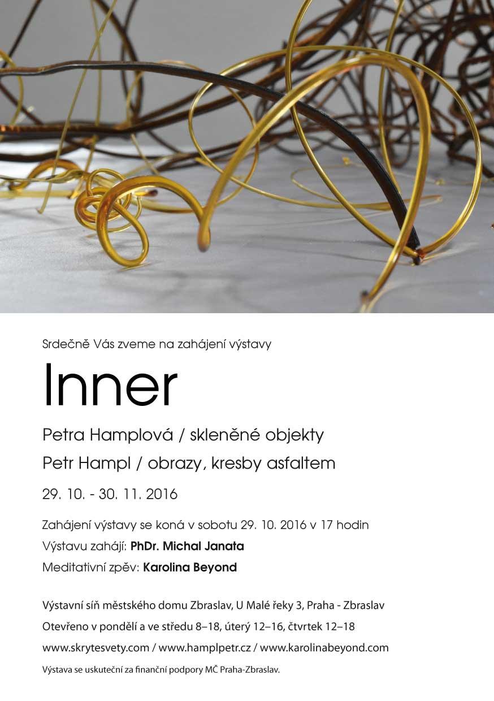 výstava Inner Petra Hamplová