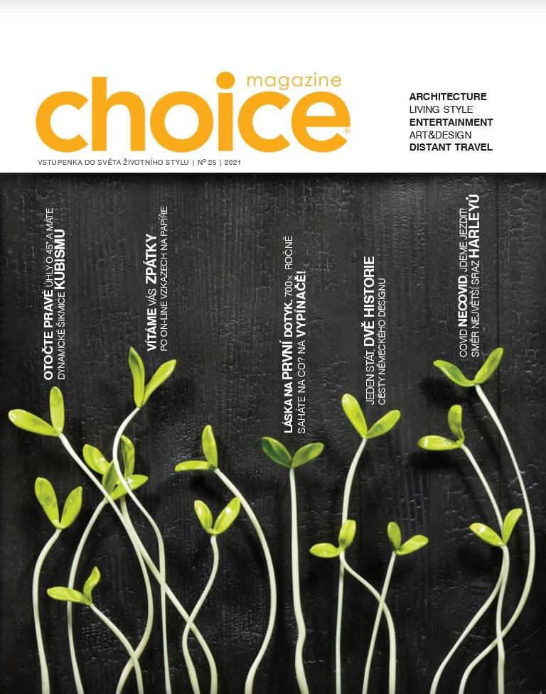 Magazín Choice - titulek