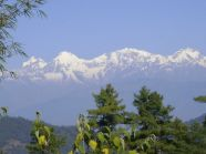 A_view_of_mountains_from_Daman_Nepal.