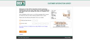 Dickssportinggoods.com/feedback – Dickssportinggoods Survey - Free Coupon