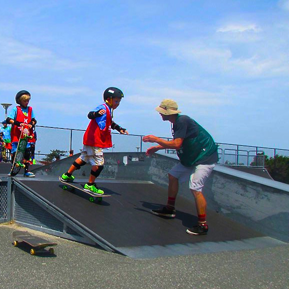 Full Day Surf and Skateboarding camps