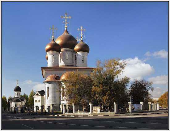 Храм преподобного Сергия Радонежского, Москва, Россия