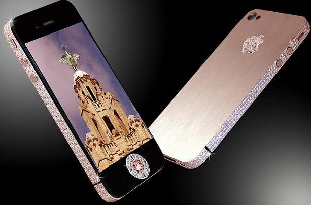 золотой iPhone