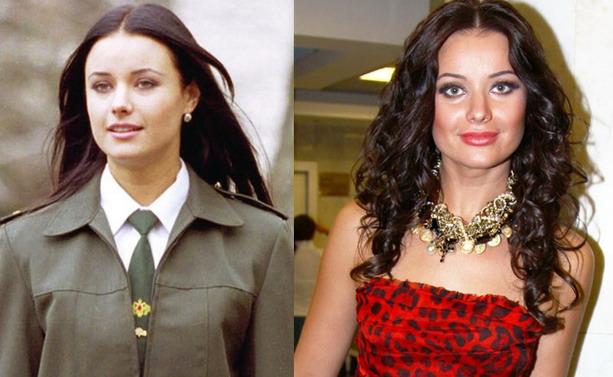 Оксана Федорова до и после пластической операции