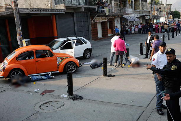 Убийство в столице Мехико