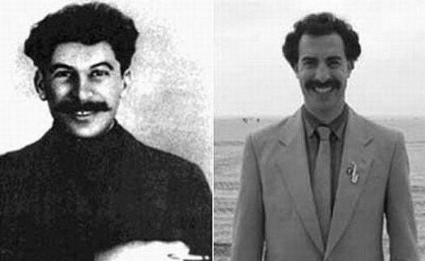 Борат и Сталин