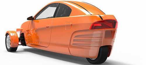 Трехколесный автомобиль за $6800