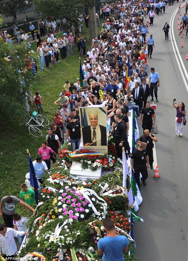 Флориан Чиоаба похороны