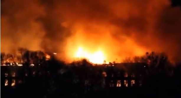 Киев пожар в аграрном университете