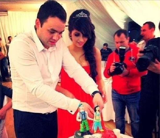 Саша Гобозов и Алиана Устиненко свадьба