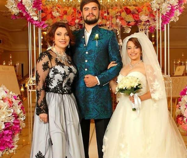 Свадьба дочери Розы Сябитовой Ксении