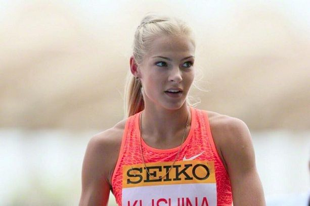 Легкоатлетка Дарья Клишина