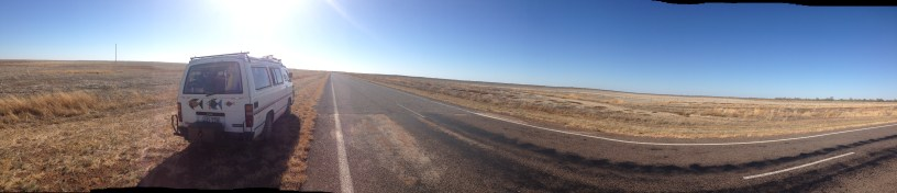 a panoramic view of nothing