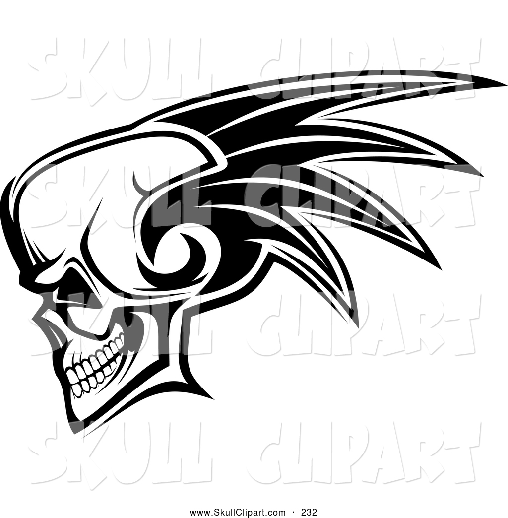 Royalty Free Bone Stock Skull Designs