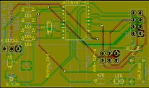 Humidity Sensor PCB