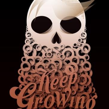 """Keep Growing"" poster"