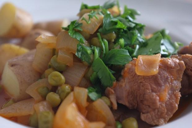 lamb-peas