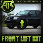Xterra 2 Front Leveling Lift Kit 4x2 4x4 Pro For 2005 2019 Nissan Frontier Rainbowlands Lk