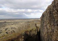 The view towards Reykjavík.