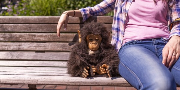 gratisography-monkey-bench-girl