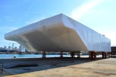 Projekt MOSE/1. vrata za zaljev Malamocco spremna za isporuku/Brodosplit/FOTO Škveranka