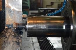 BRODOSPLIT - Strojna obrada čelika pri izradi alata za PROJEKT MOSE na HORIZONTALNOJ BUŠILICI-GLODALICI ŠKODA W 200 HB4/13,5 CNC X13500 Y4250 Z2000 B kontinuirano, CNC Sinumerik 850M, 100 kW