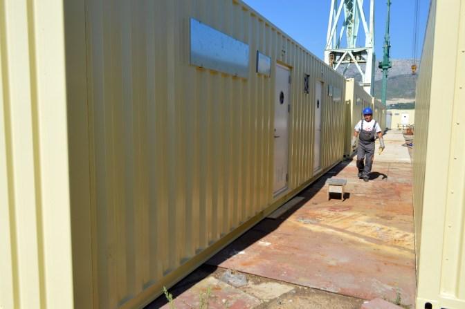 Brodosplit - Poslovno-stambeni kontejneri - FOTO Škveranka 2016.