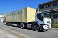 Brodosplit - Poslovno-stambeni kontejneri - Transport - FOTO Škveranka 2016.