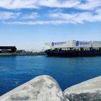 Četiri Brodosplitove čelične brane uplovile u Venecijansku lagunu