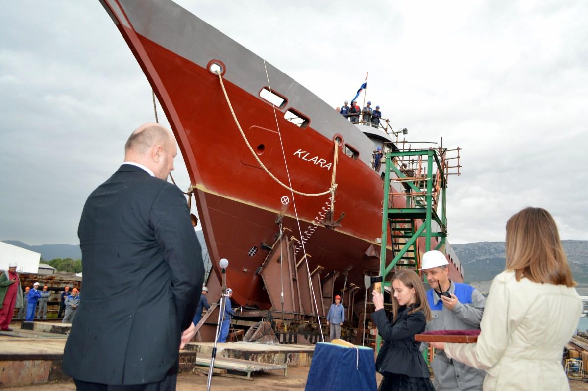 """Flota Brodosplit plovidbe obogaćena trojarbolnim jedrenjakom """"KLARA"""""""
