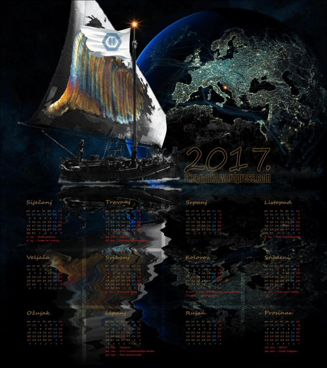 Kalendar 2017.