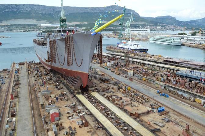 Brodosplit - Porinuće Novogradnje 483 - FOTO Škveranka