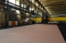 Brodosplit - Početak obrade čelika za Novogradnju 484 - FOTO Škveranka