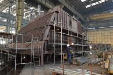 Izgradnja grupe 314 za Novogradnju 484 u 1. lođi nove predmontažne hale