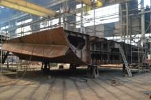 Izgradnja kobilice za Novogradnju 484 u 1. lođi Brodosplitove NPH