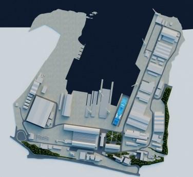 3D vizualizacija - Suhi dokovi Brodosplit