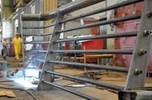 Brodosplit- Izgradnja, transport, isporuka i ugradnja ograde za most Ciovo - FOTO Skveranka (1)