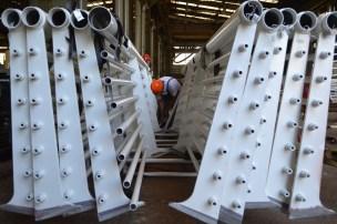 Brodosplit- Izgradnja, transport, isporuka i ugradnja ograde za most Ciovo - FOTO Skveranka (4)