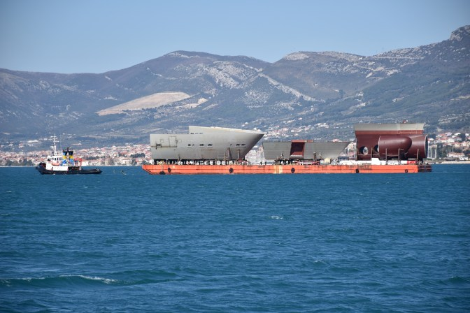 Brodosplit - Fincantieri - Transport - FOTO Škveranka