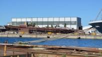Pogled na navoze i Brodogradilište specijalnih objekata