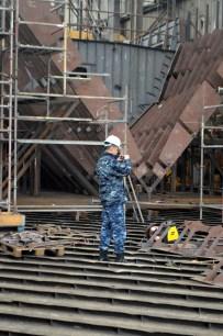 30 tona teška kolijevka je rasla paralelno s brodom