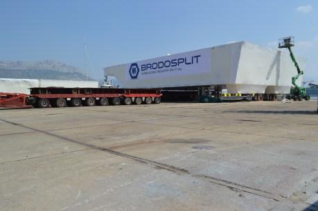 Brodosplit - Projekt Mojsije - Transport, 2.9.2016. - FOTO Škveranka (19)