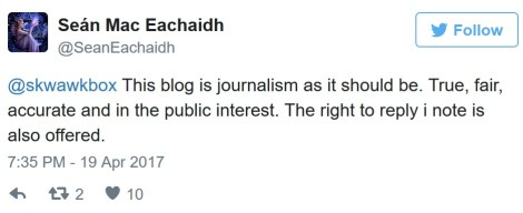 journalism as it should be